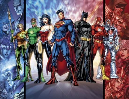 Justice League of America in 2011 by Jim Lee
